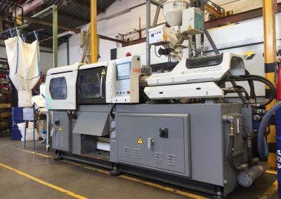 maquinaria para inyección de moldes